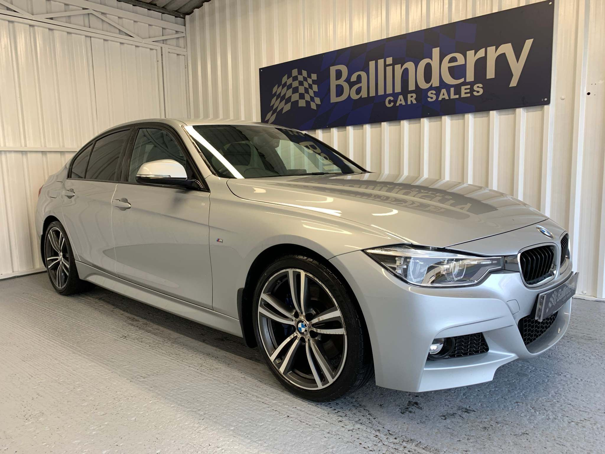 2015 BMW 3 Series 2.0 320d BluePerformance M Sport (s/s) Diesel Manual 19″ ALLOYS-SAT NAV-B/LEATHER – Ballinderry Car Sales Moira