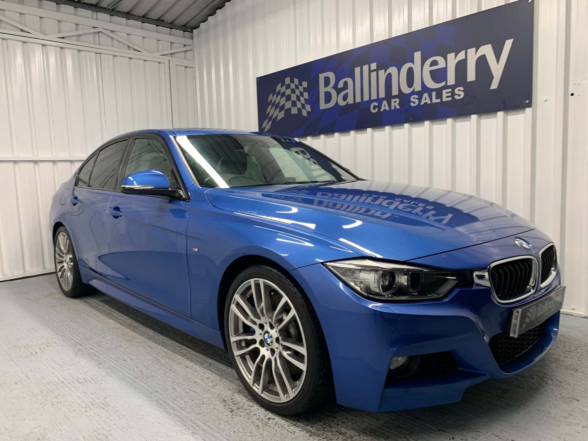 2014 BMW 3 Series 3.0 335i M Sport (s/s) Petrol Manual GLASS ROOF- ELECTRIC MEM SEATS – Ballinderry Car Sales Moira