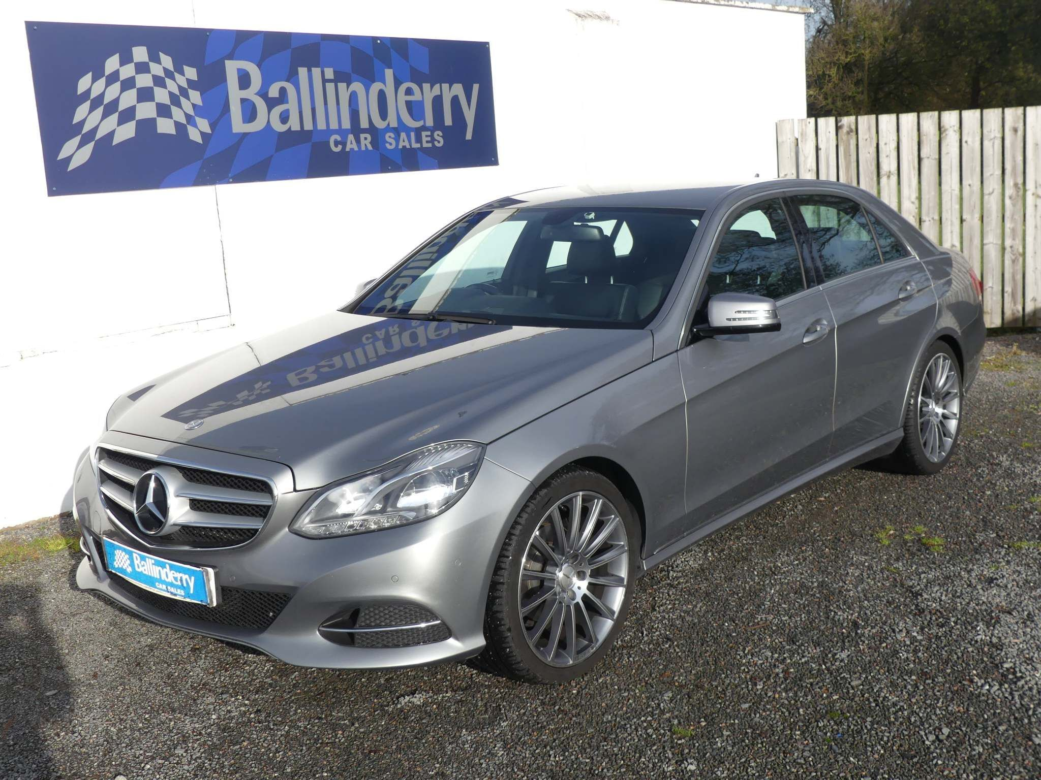 2013 MERCEDES BENZ E Class 2.1 E220 CDI SE 7G-Tronic Plus Diesel Automatic 19″ ALLOYS–LEATHER–SAT NAV – Ballinderry Car Sales Moira