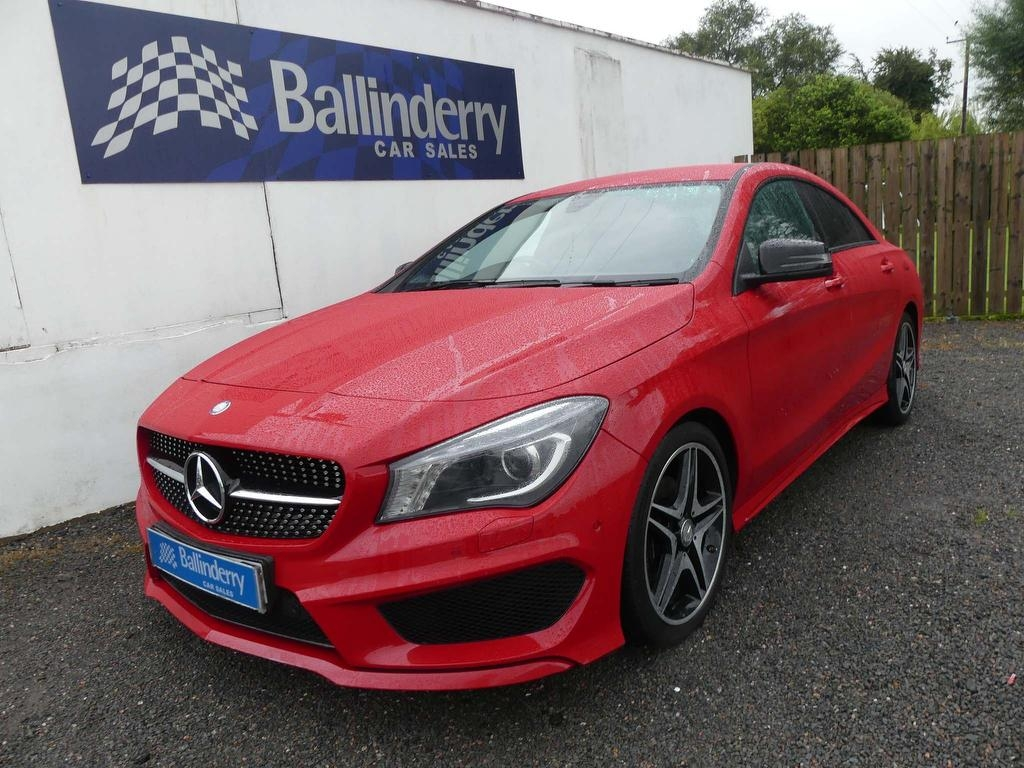 2015 MERCEDES BENZ CLA Class 2.1 CLA200 CDI AMG Sport 7G-DCT (s/s) Diesel Automatic ONE OWNER WITH FULL MB S/HIST – Ballinderry Car Sales Moira
