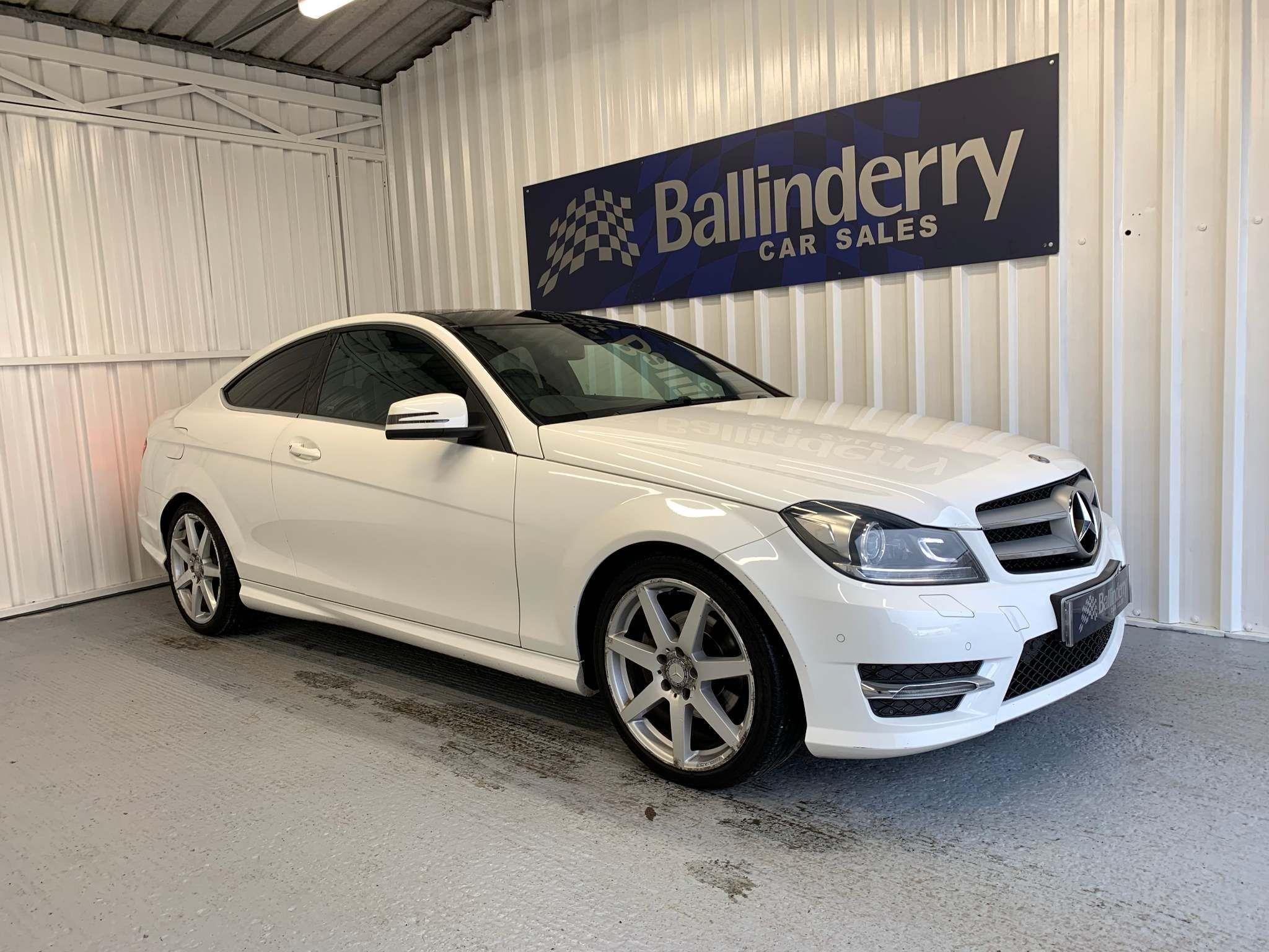 2014 MERCEDES BENZ C Class 2.1 C220 CDI AMG Sport Edition (Premium Plus) 7G-Tronic Plus Diesel Automatic GLASS ROOF-SAT NAV-REVERSE CAM – Ballinderry Car Sales Moira