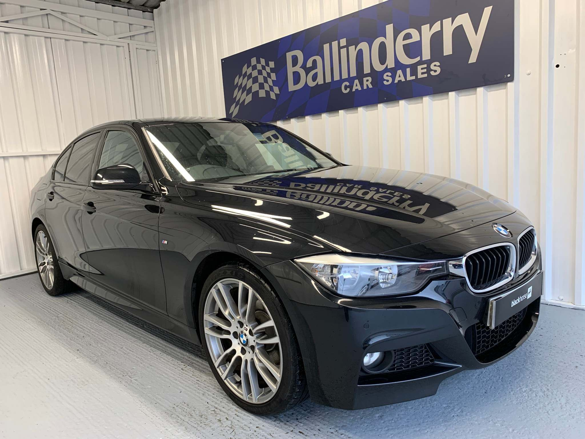 2012 BMW 3 Series 2.0 320i M Sport xDrive Petrol Manual 19″ALLOYS-LEATHER-4WD – Ballinderry Car Sales Moira