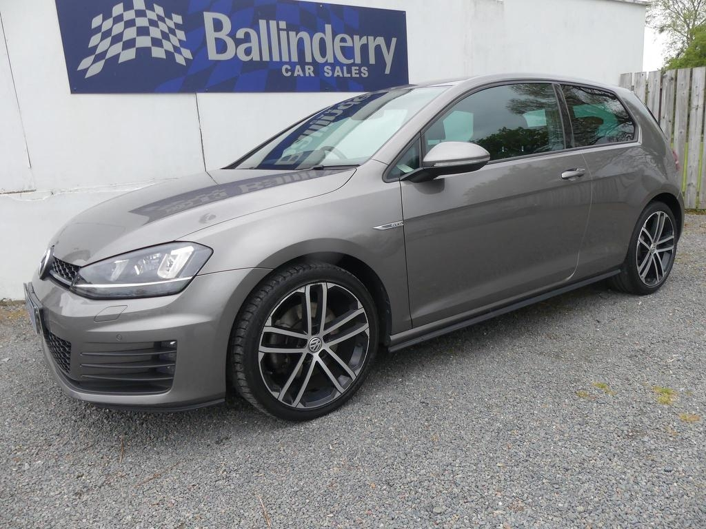 2016 VOLKSWAGEN Golf 2.0 TDI BlueMotion Tech GTD Diesel Manual SAT NAV-H/ SEATS-XENONS-£30TAX – Ballinderry Car Sales Moira
