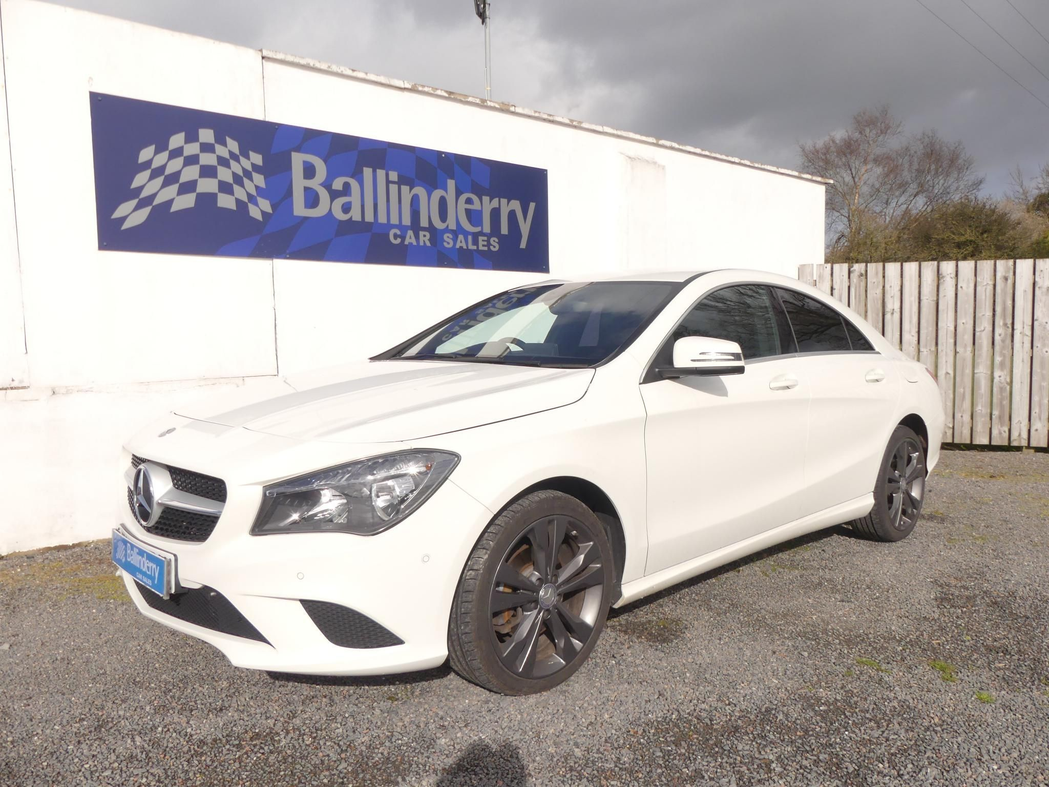 2015 MERCEDES BENZ CLA Class 2.1 CLA200 Sport (s/s) Diesel Manual BLUE TOOTH–18″ ALLOYS-£20 TAX – Ballinderry Car Sales Moira