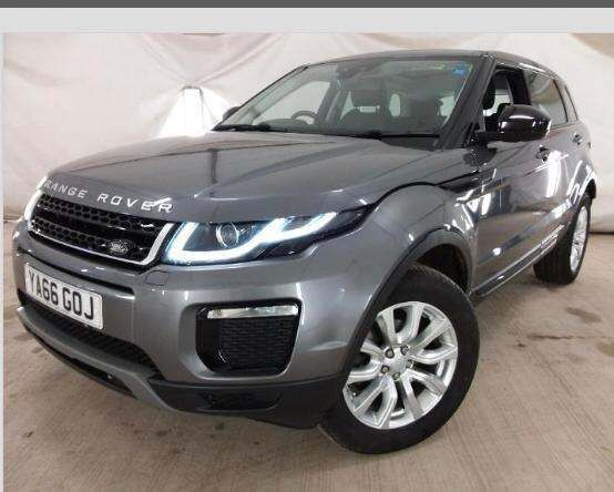 2017 LAND ROVER Range Rover Evoque 2.0 eD4 SE Tech (s/s) Diesel Manual GLASS PAN ROOF PLUS SE TECH – Ballinderry Car Sales Moira