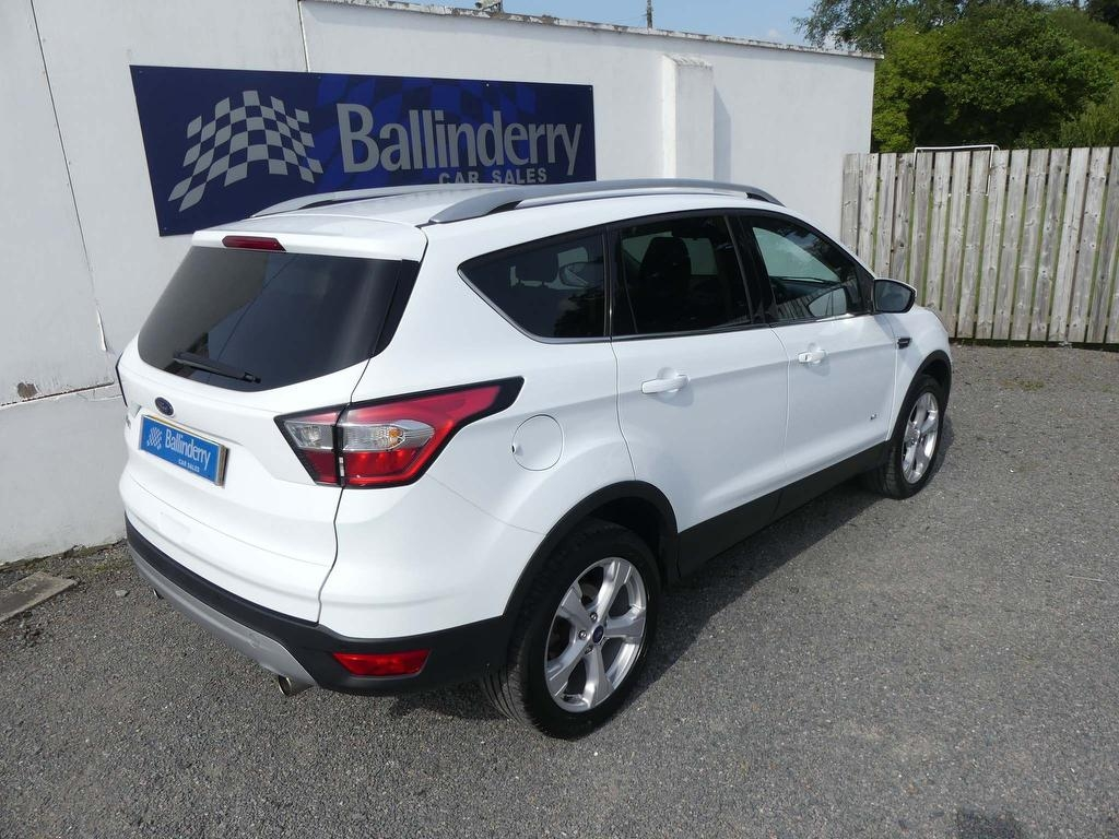 2017 FORD Kuga 2.0 TDCi EcoBlue Zetec AWD (s/s) Diesel Manual AWD–BLUE TOOTH – Ballinderry Car Sales Moira full