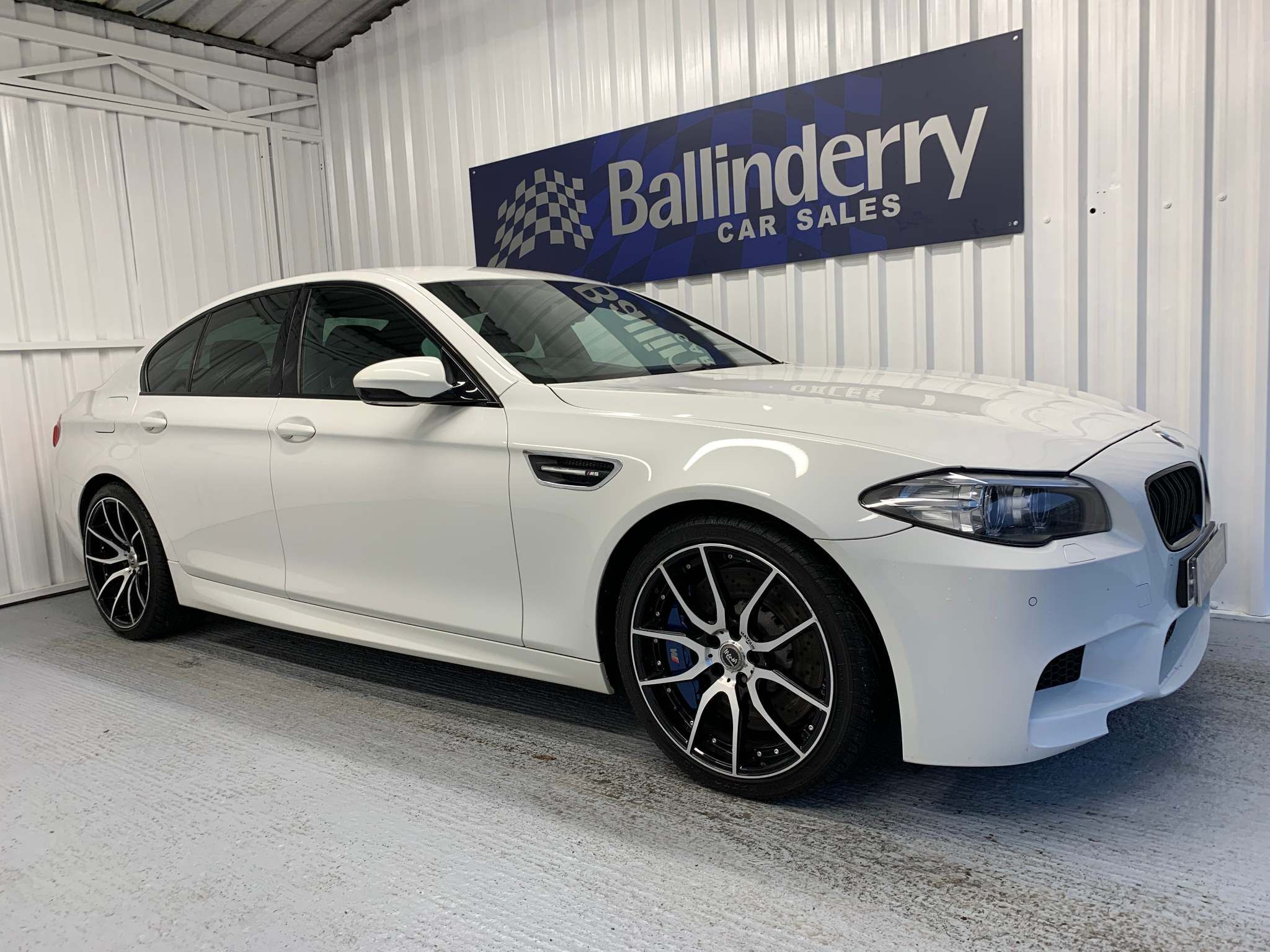 2013 BMW 5 Series 2.0 520d M Sport Diesel Automatic M5 BODY KIT & 20 INCH ALLOYS – Ballinderry Car Sales Moira