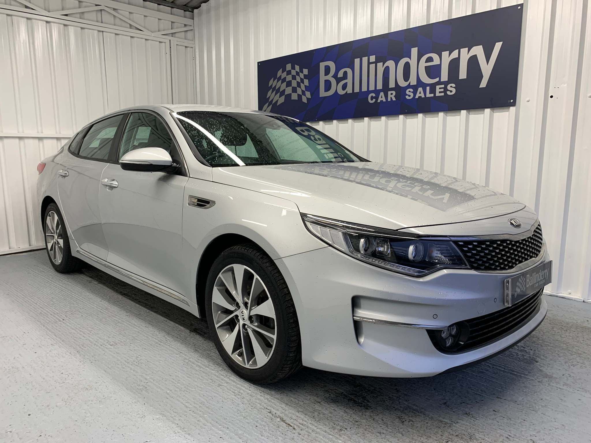 2016 KIA Optima 1.7 CRDi 3 (s/s) Diesel Manual SAT NAV-HALF LEATHER  SEATS – Ballinderry Car Sales Moira