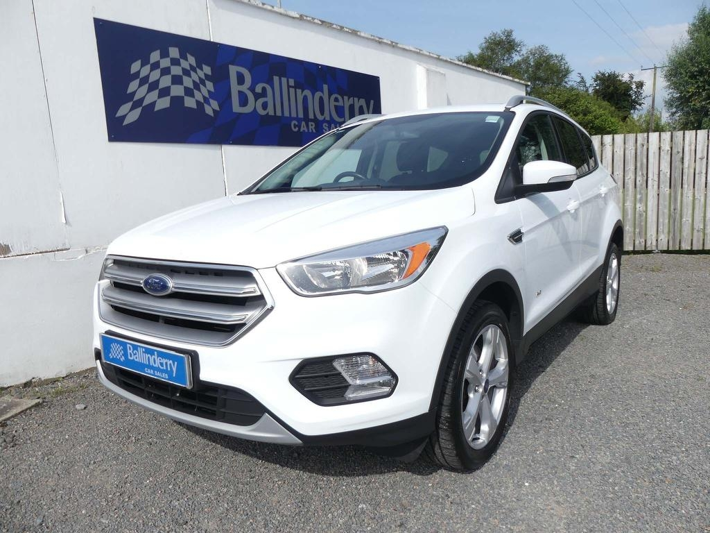 2017 FORD Kuga 2.0 TDCi EcoBlue Zetec AWD (s/s) Diesel Manual AWD–BLUE TOOTH – Ballinderry Car Sales Moira