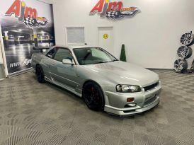 1999 Nissan Skyline R34 GTT Manual Petrol 6 Speed Manual  – AJM Sales Ltd Dungannon