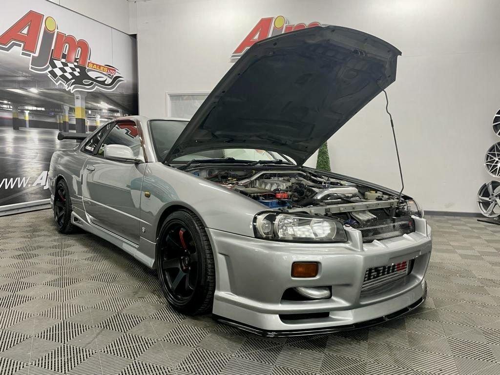 1999 Nissan Skyline R34 GTT Manual Petrol 6 Speed Manual  – AJM Sales Ltd Dungannon full
