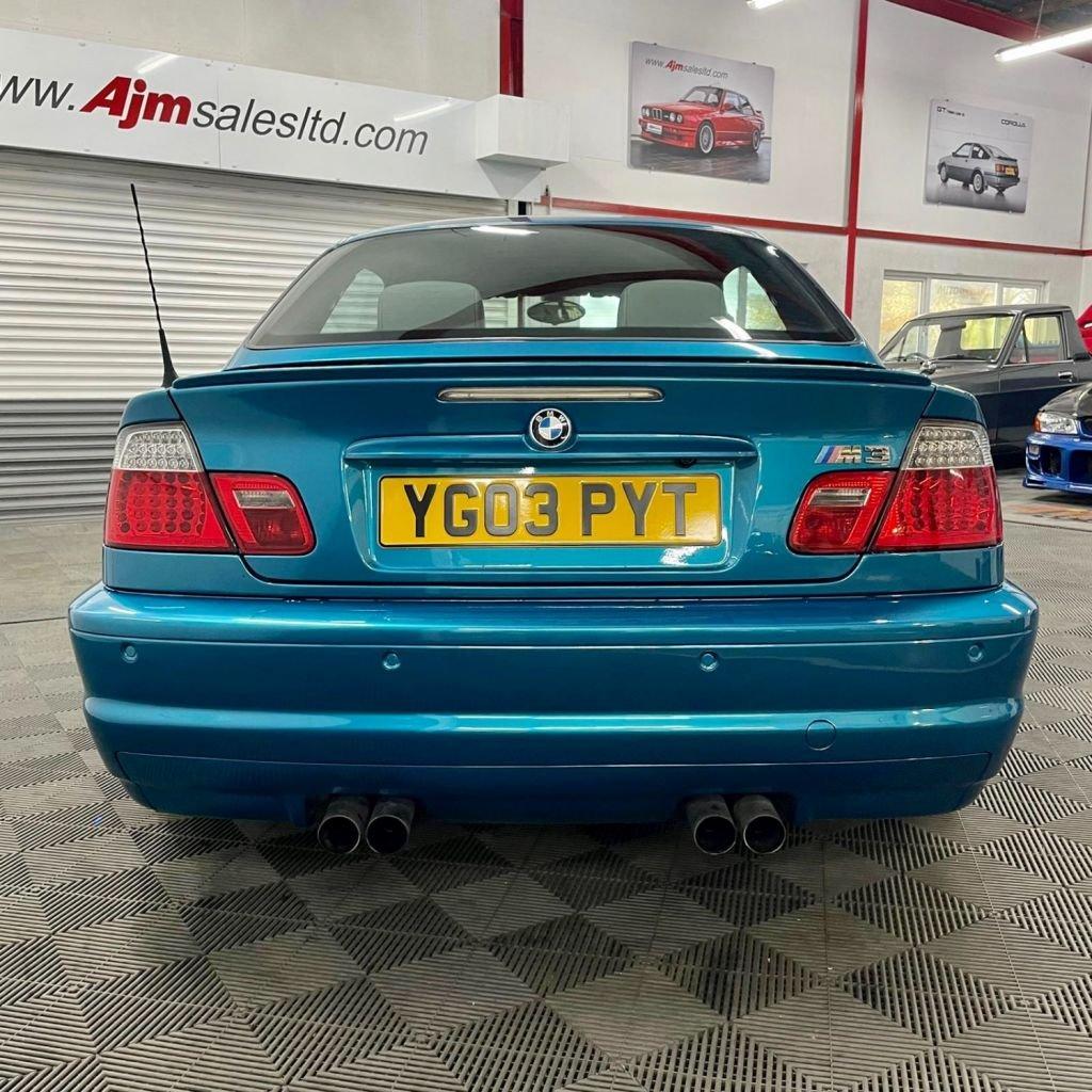 2003 BMW M3 3.2 Petrol Manual  – AJM Sales Ltd Dungannon full