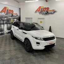 2012 Land Rover Range Rover Evoque 2.2 SD4 PURE Diesel Automatic  – AJM Sales Ltd Dungannon