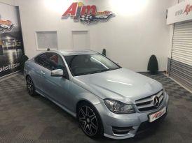 2012 Mercedes-Benz C Class C-CLASS 2.1 C220 CDI BLUEEFFICIENCY AMG SPORT PLUS Diesel Automatic  – AJM Sales Ltd Dungannon