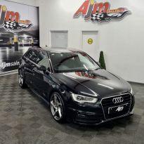 2013 Audi A3 1.6 TDI S LINE Diesel Manual  – AJM Sales Ltd Dungannon
