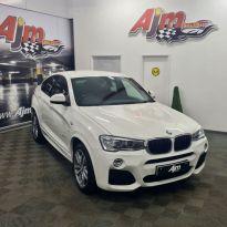 2015 BMW X4 2.0 XDRIVE20D M SPORT Diesel Automatic  – AJM Sales Ltd Dungannon