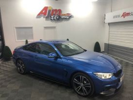 2016 BMW 4 Series 3.0 435D XDRIVE M SPORT Diesel Automatic  – AJM Sales Ltd Dungannon