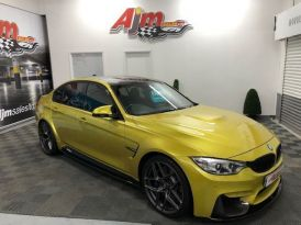 2016 Man M3 BMW  3.0    RARE 6 SPEED UAL FINISHED IN AUSTIN YELLOW FSH INCLUDING RUN IN SERVICE M-PERFORCE CARBON KIT!! Petrol Manual  – AJM Sales Ltd Dungannon