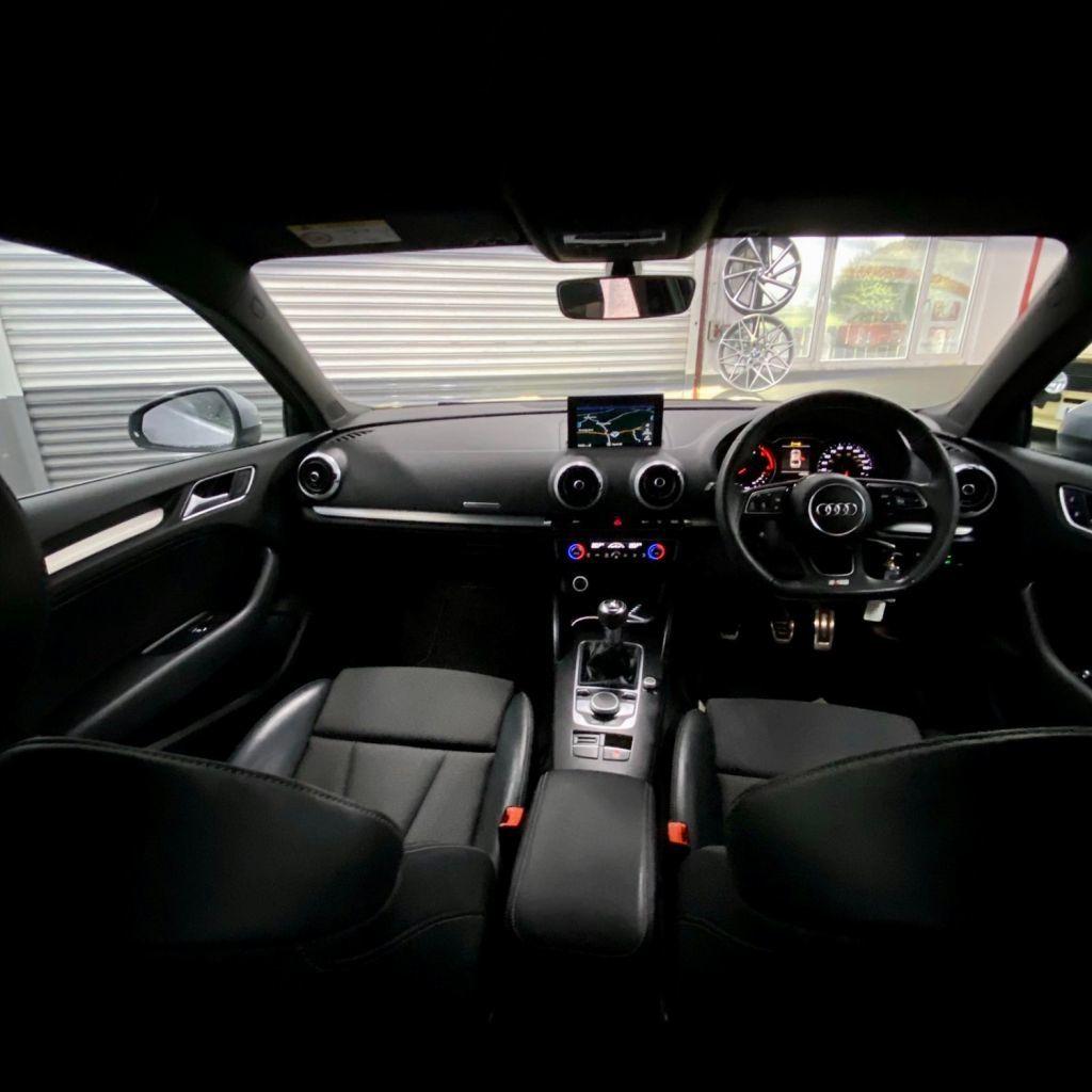 2017 Audi A3 1.6 TDI S LINE Diesel Manual  – AJM Sales Ltd Dungannon full