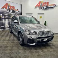2017 BMW X3 3.0 XDRIVE35D M SPORT Diesel Automatic  – AJM Sales Ltd Dungannon