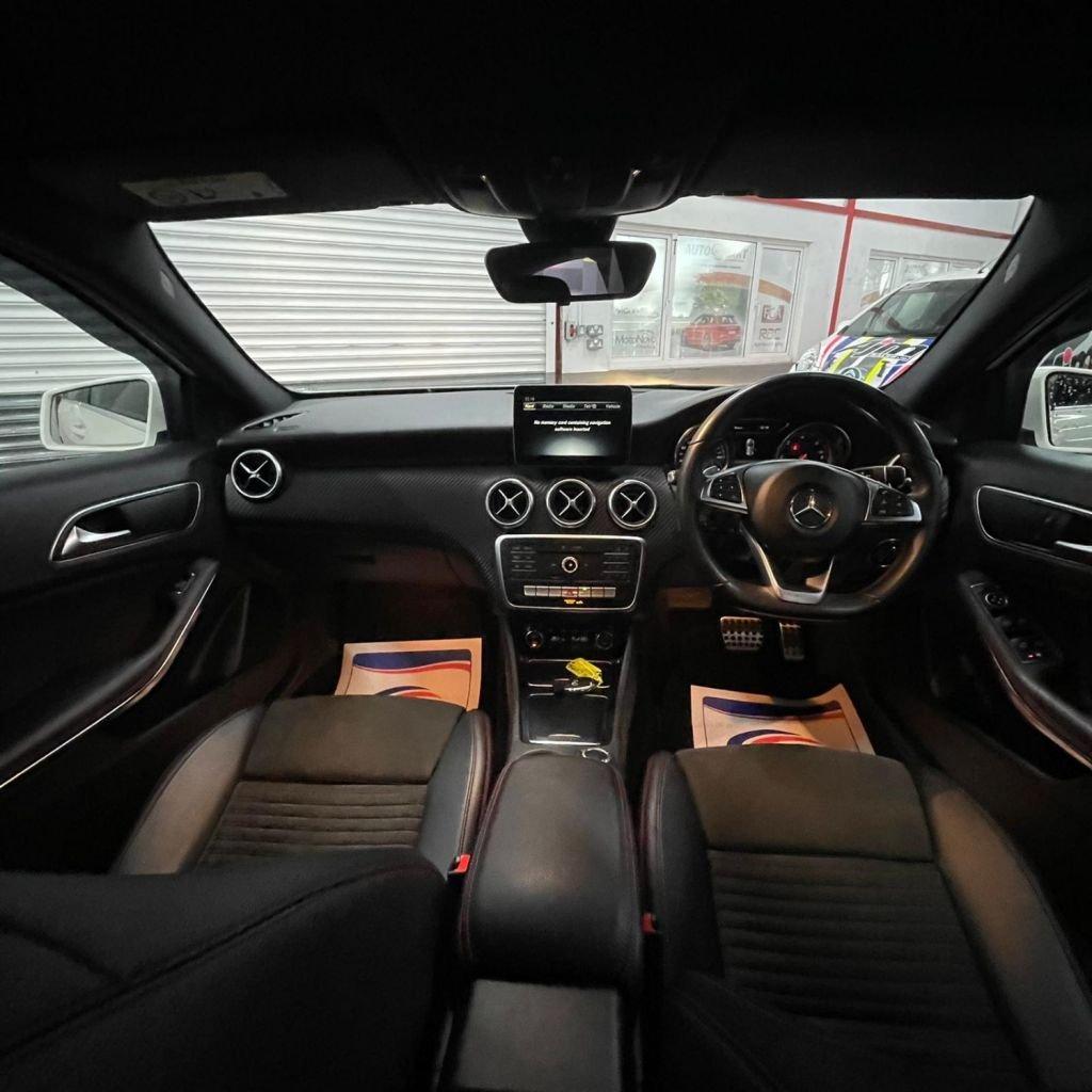 2017 Mercedes-Benz A Class A-CLASS 1.5 A 180 D AMG LINE Diesel Semi Auto  – AJM Sales Ltd Dungannon full