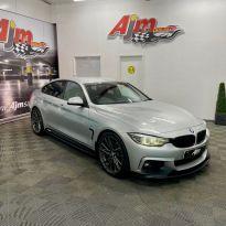 2018 BMW 4 Series 2.0 420D M SPORT GRAN COUPE Diesel Automatic  – AJM Sales Ltd Dungannon