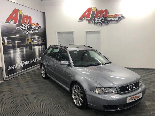 2001 Audi RS4 AVANT 2.7  AVANT QUATTRO Petrol Manual  – AJM Sales Ltd Dungannon