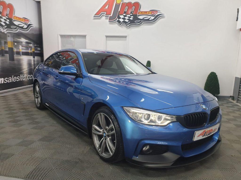 2017 BMW 4 Series 2.0 420D XDRIVE M SPORT GRAN COUPE Diesel Manual  – AJM Sales Ltd Dungannon