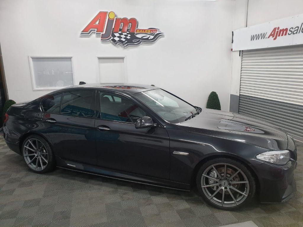 2013 BMW 5 Series 3.0 530D M SPORT Diesel Automatic  – AJM Sales Ltd Dungannon