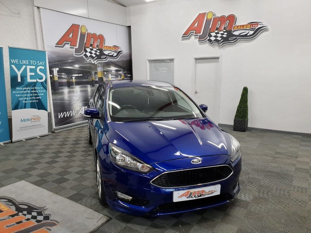 2016 Ford Focus 1.5 ZETEC S TDCI Diesel Manual  – AJM Sales Ltd Dungannon