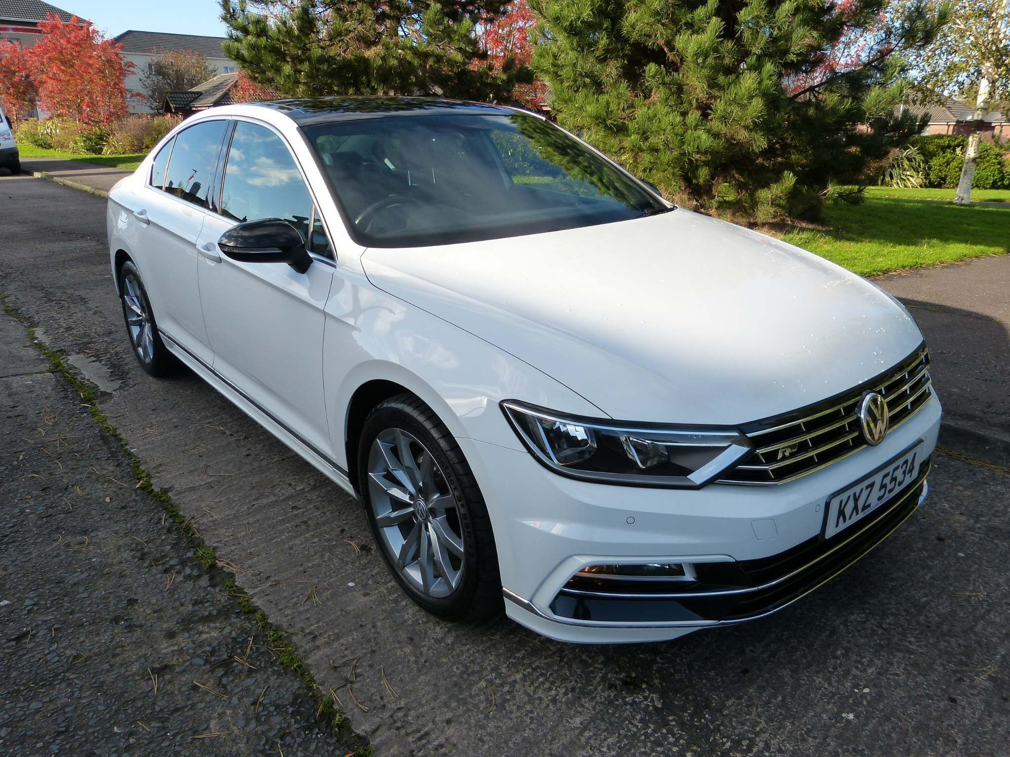 2017 VOLKSWAGEN Passat 2.0 TDI BlueMotion Tech R-Line (s/s) Diesel Manual glass sunroof – Beechlawn Motors Belfast