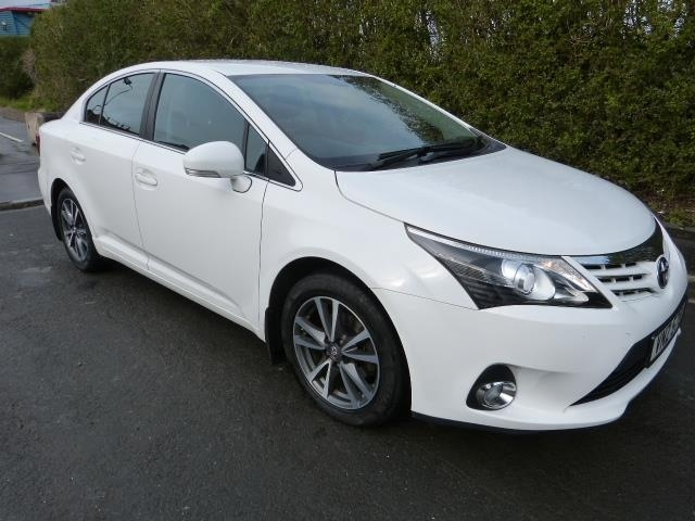 2014 TOYOTA Avensis 2.0 D-4D Icon Business Edition Diesel Manual FSH HALF LEATHER MOTD TO 12/20 – Beechlawn Motors Belfast