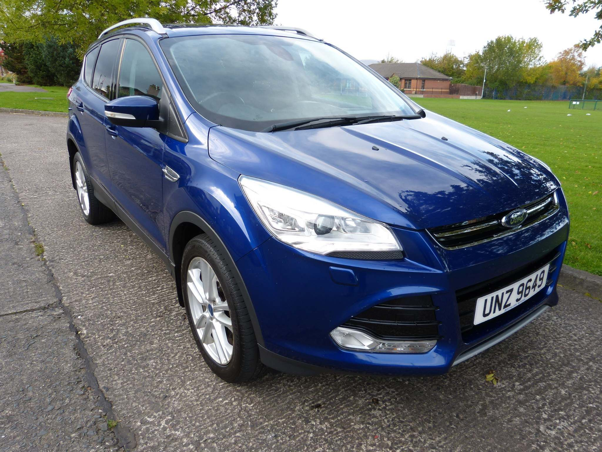 2015 FORD Kuga 2.0 TDCi Titanium X Diesel Manual full leather – Beechlawn Motors Belfast