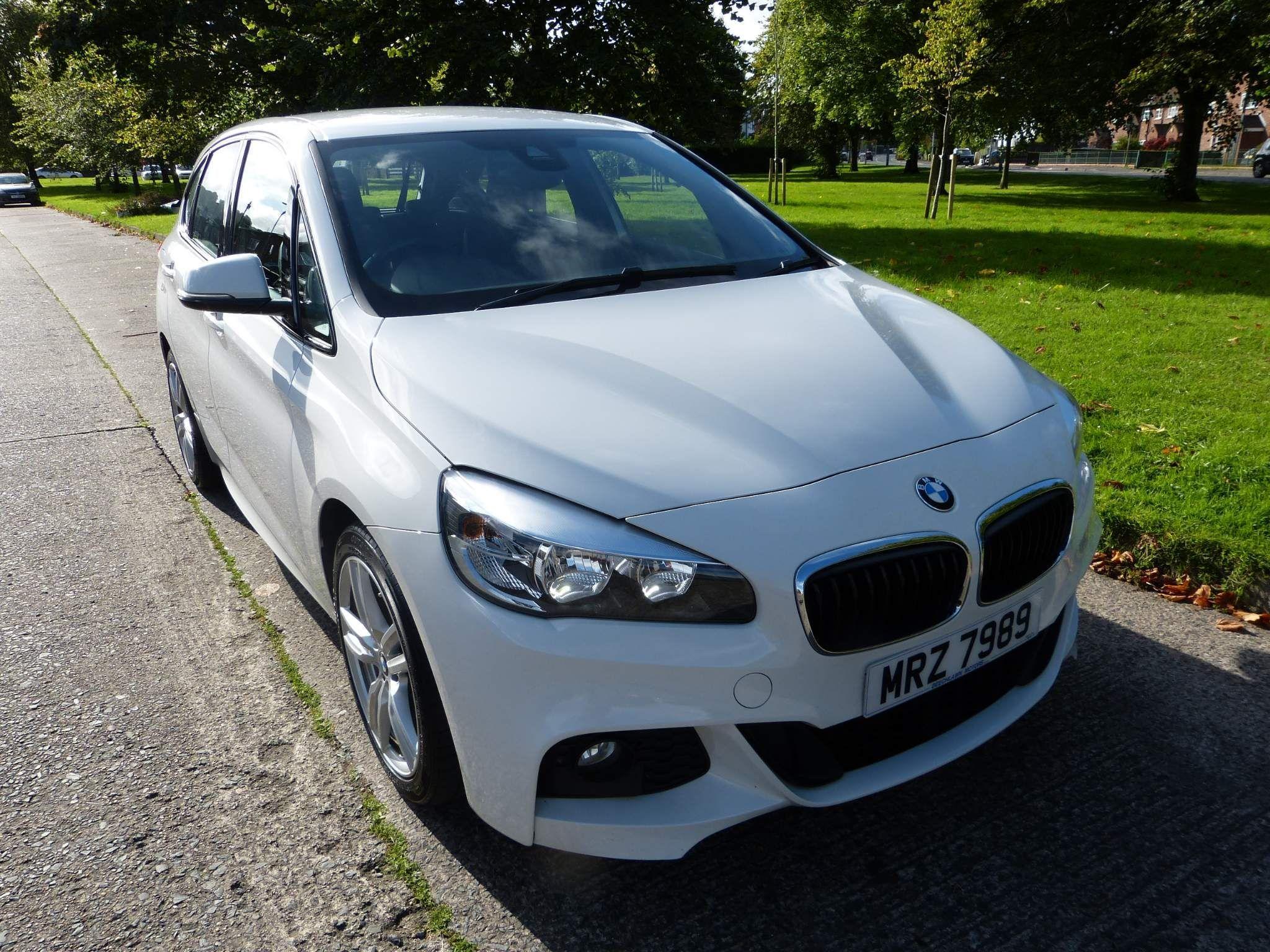 2016 BMW 2 Series Active Tourer 1.5 216d M Sport Active Tourer (s/s) Diesel Manual excellent condition, leather – Beechlawn Motors Belfast