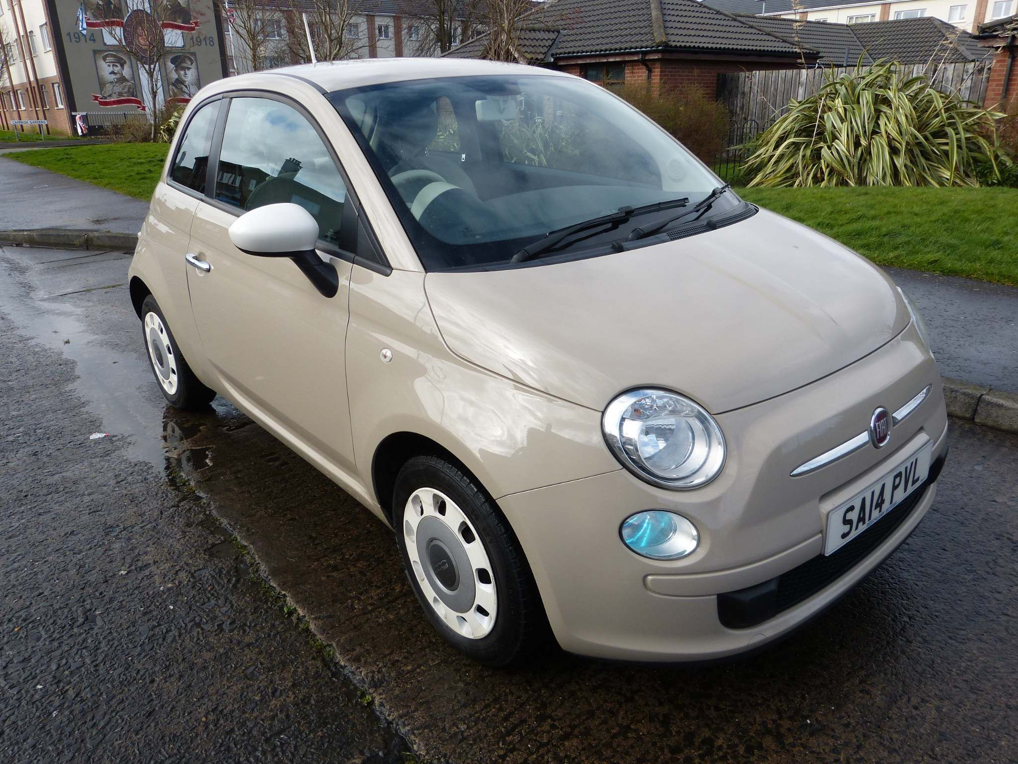 2014 FIAT 500 1.2 Colour Therapy Petrol Manual mot'd to march 2021 – Beechlawn Motors Belfast