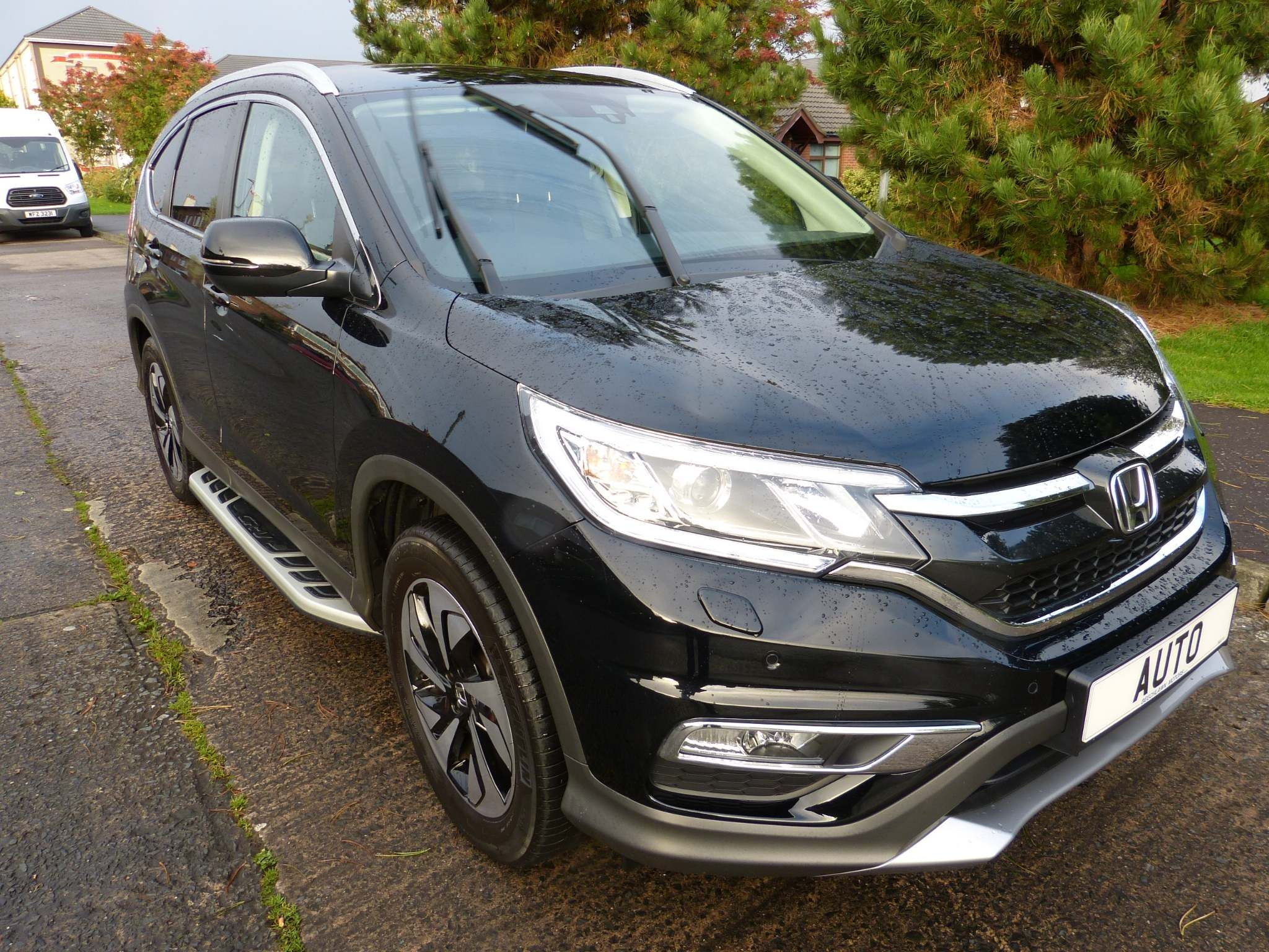 2018 HONDA CR-V 1.6 i-DTEC EX Auto 4WD Diesel Automatic leather glass roof, sidesteps. – Beechlawn Motors Belfast