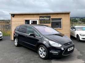 2011 Ford S-Max 2.0 TITANIUM TDCI Diesel Manual **** Finance Available**** – Brown Cars Newry