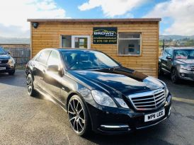 2011 Mercedes-Benz E Class E-CLASS 2.1 E220 CDI BLUEEFFICIENCY AVANTGARDE ED125 Diesel Automatic  – Brown Cars Newry