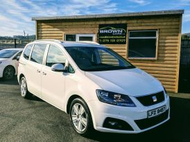 2011 SEAT Alhambra 2.0 CR TDI ECOMOTIVE SE Diesel Manual ****FINANCE AVAILABLE**** – Brown Cars Newry