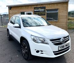 2011 Volkswagen Tiguan 2.0 MATCH TDI 4MOTION Diesel Manual **** Finance Available**** – Brown Cars Newry