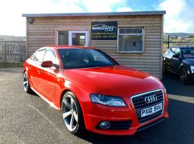 2012 Audi A4 2.0 TDI S LINE Diesel Manual **** Finance Available**** – Brown Cars Newry