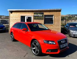 2012 Audi A4 2.0 AVANT TDI TECHNIK Diesel Manual **** Finance Available**** – Brown Cars Newry