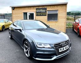 2012 Audi A7 3.0 TDI QUATTRO S LINE Diesel Automatic **** Finance Available**** – Brown Cars Newry