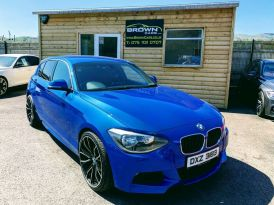 2012 BMW 1 Series 2.0 120D M SPORT Diesel Manual **** Finance Available**** – Brown Cars Newry
