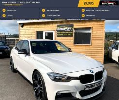2012 BMW 3 Series 2.0 318D SE Diesel Automatic **** Finance Available**** – Brown Cars Newry