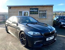 2012 BMW 5 Series 2.0 520D M SPORT Diesel Automatic **** Finance Available**** – Brown Cars Newry