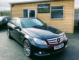 2012 Mercedes-Benz C Class C-CLASS 2.1 C220 CDI BLUEEFFICIENCY SE Diesel Manual **** Finance Available**** – Brown Cars Newry
