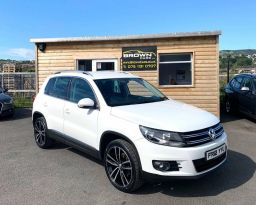 2012 Volkswagen Tiguan 2.0 SPORT TDI 4MOTION Diesel Manual **** Finance Available**** – Brown Cars Newry