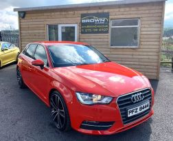 2013 Audi A3 1.6 TDI SPORT Diesel Manual **** Finance Available**** – Brown Cars Newry