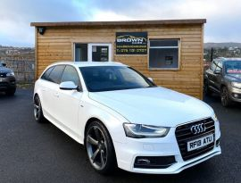 2013 Audi A4 TDI S Line Diesel Manual **** Finance Available**** – Brown Cars Newry